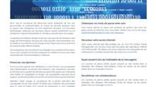 Information sur les bonnes pratiques pour sécuriser votre Informatique