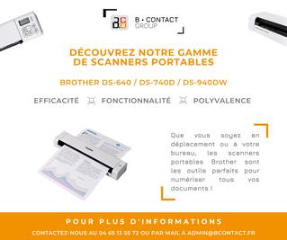 Découvrez notre gamme de scanners portables