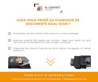 Nos chargeurs de documents Dual Scan