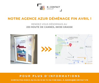 Déménagement agence Azur