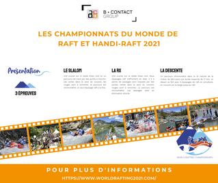 Les championnats du monde de raft et handi-raft 2021