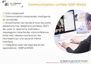 Communication unifiée VOIP Wildix