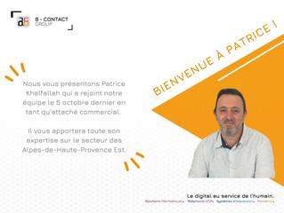 Bienvenue à Patrice !