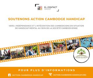 Soutenons Action Cambodge Handicap