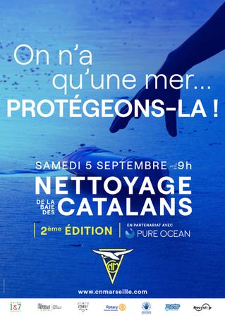 Nous vous convions à venir nettoyer la baie de Catalans le 05 Septembre #ensemble changeons les chos
