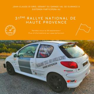 31ème Rallye national de Haute Provence
