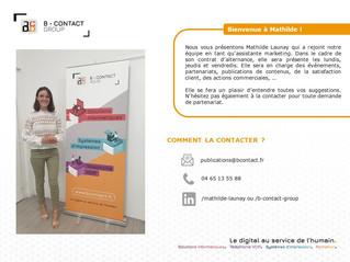 Mathilde, notre nouvelle assistante marketing