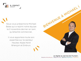 Bienvenue à Michaël !