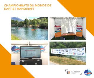 Championnats du monde de raft et handiraft : nous sommes là !