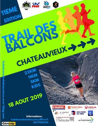 INSCRIVEZ-VOUS AU TRAIL DE CHATEAUVIEUX 18 AOUT 2019