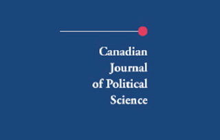 canadian journal of political science.jp