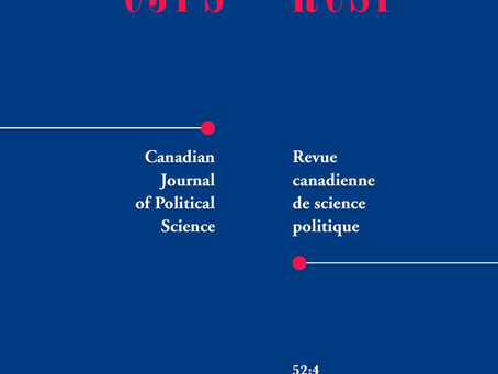 Violence and Militants was reviewed by Canadian Journal of Political Science