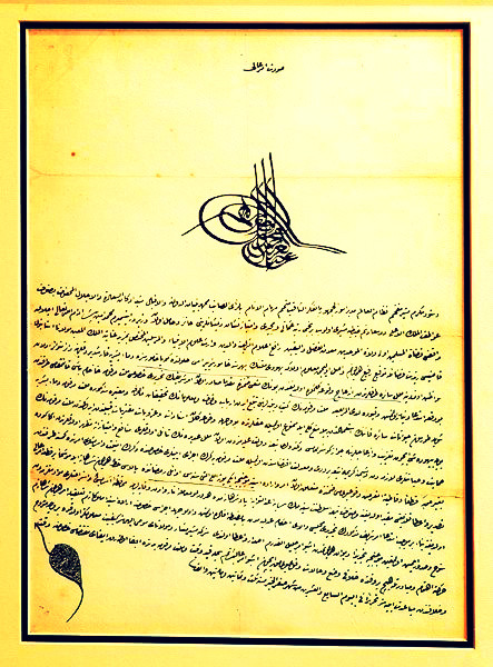 Jews, Blood Libel and the Firmans of the Ottoman Sultans