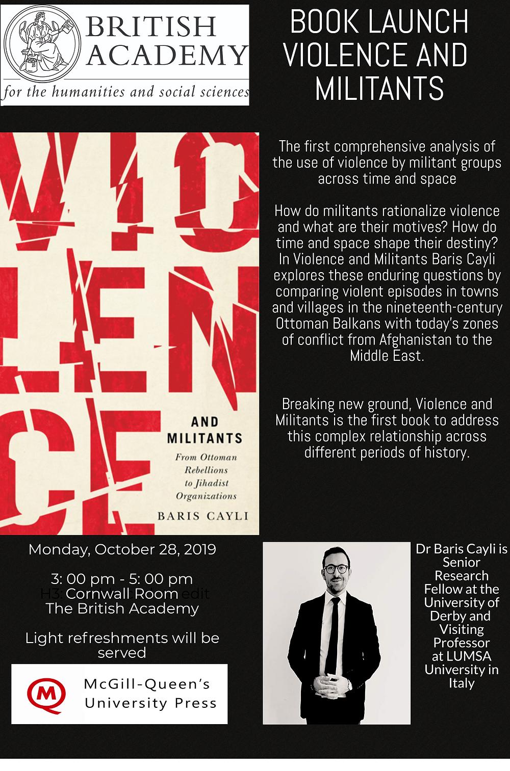 Violence and Militants Book Launch