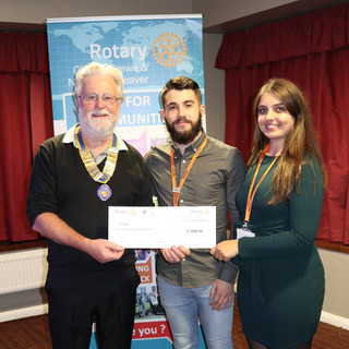 C&R Rotary Weaver Cheque Presentations.J