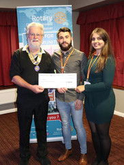 C&R Rotary Weaver Cheque Presentations.J
