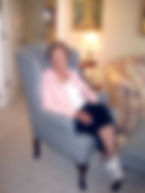 Sue H, a client of Interiors for Seniors, was able to keep all her favorite things