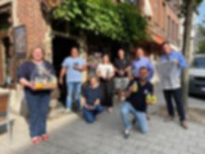 Negen Gentse ondernemers zetten schouders onder Vaderdag-mand