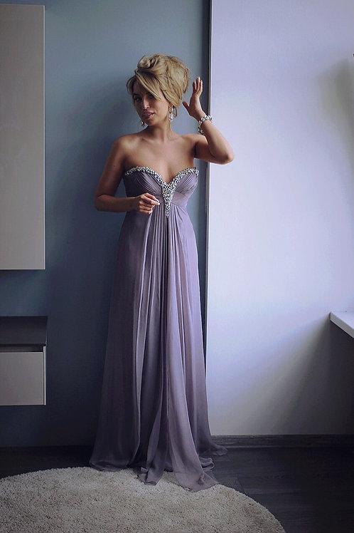 Вечернее платье бюстье BARBARA SCHWARZER