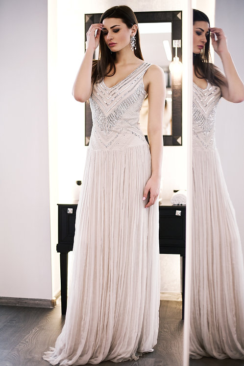 Barbara Schwarzer шелковое платье