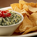 Spinach Dip - Served with Tortilla Chips