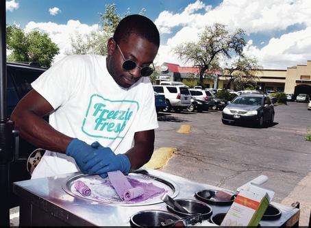 'Stir-fried' ice cream served up in Santa Fe