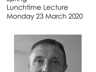 Spring Lunchtime Lecture tickets now on sale.