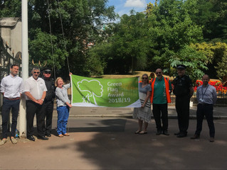Battersea Park gets Green Flag Award!