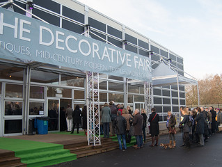 Decorative Antiques and Textiles Fair - on til Sunday 27th Jan