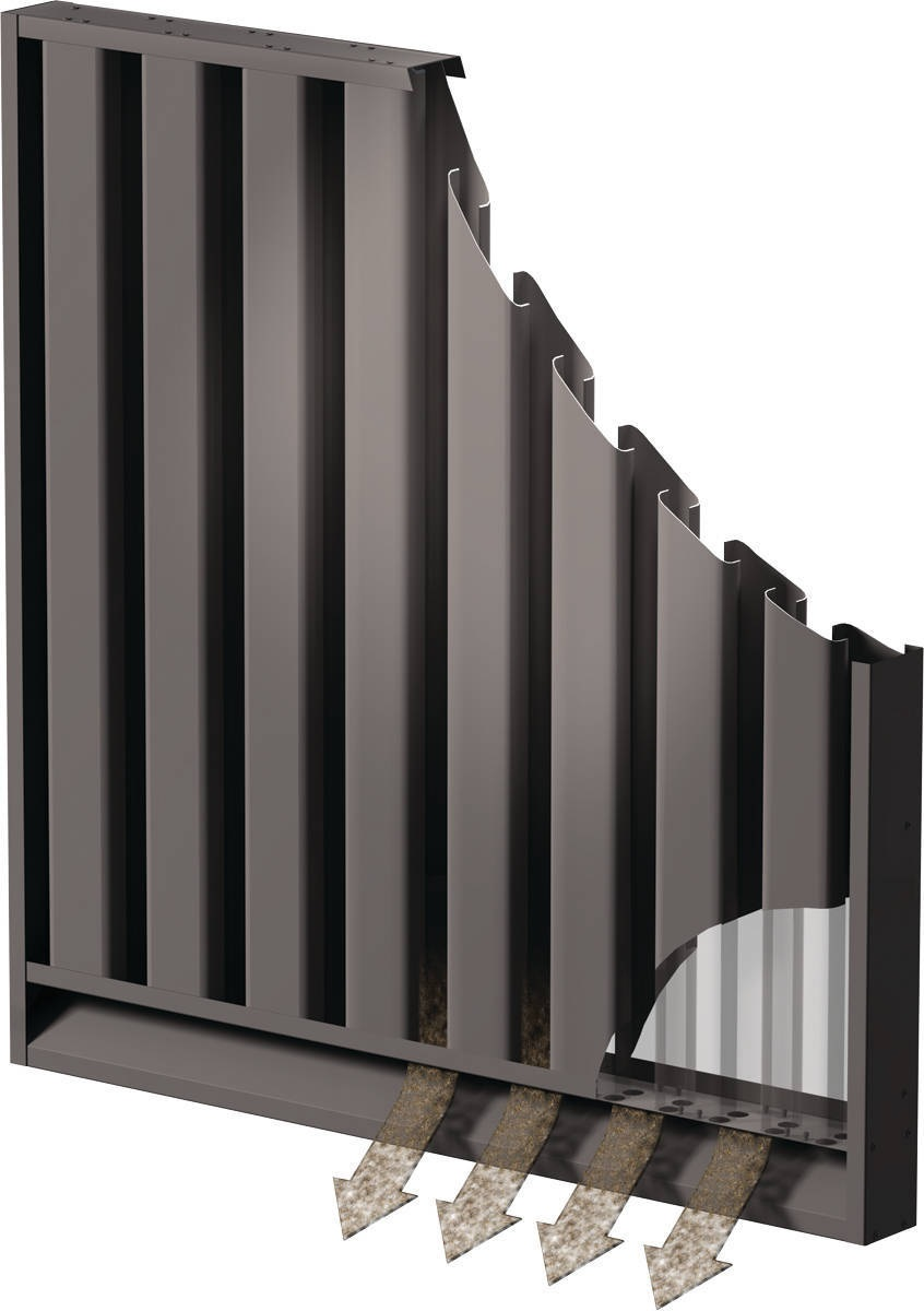 Operation And Functioning Of Sand Trap Louver With Bird Screen
