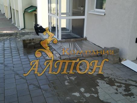 Изготовление фундаментной плиты под крыльцо. г. Кемерово, Лесная поляна.