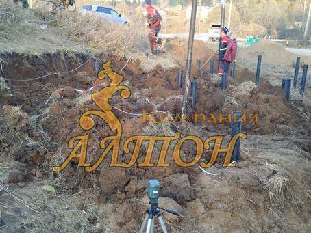 Изготовление и Монтаж винтовых свай под Подстанцию. д. Андреевка