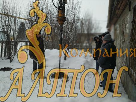 Изготовление и Монтаж винтовых свай под газовую трубу с. Ягуново.