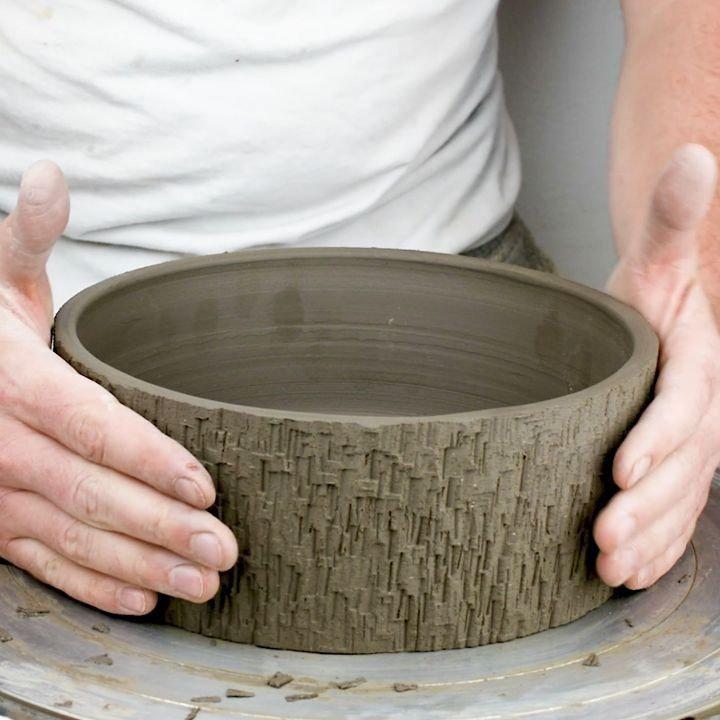 Hand Building Bonsai Pot Class