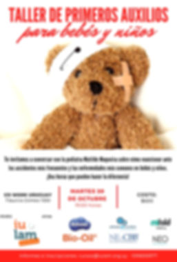 afiche nuevo primeros auxilios setiembre