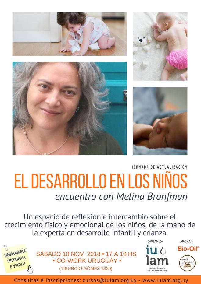 El desarrollo en los niños, con Melina Bronfman