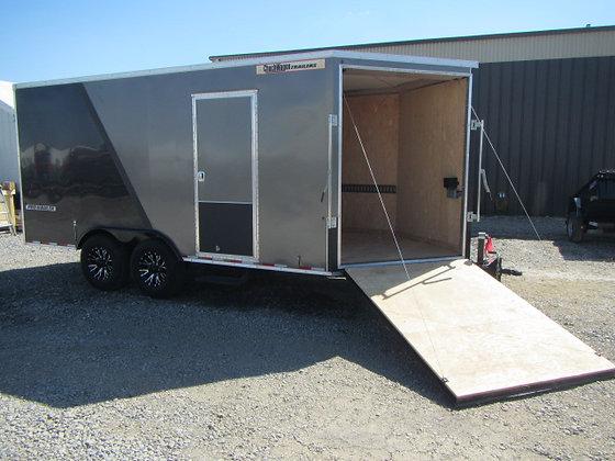 Pro-Hauler Cargo 8.5x16 14K Cargo Barn Doors/Front Ramp