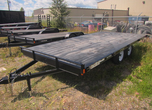 Rainbow Trailers *** 16 Foot *** 7K Deck Over Flat Bed !