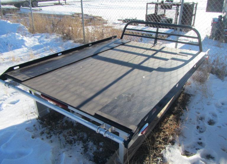 Denali Decks 8 Foot Black Aluminum Sled Decks