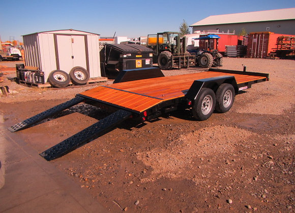 Liberty Trailers *** 16 Foot *** Car Hauler with Dovetail