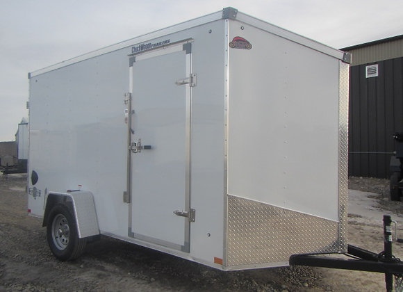 Stealth Mustang *** 6x12 *** Double Rear Barn Doors !