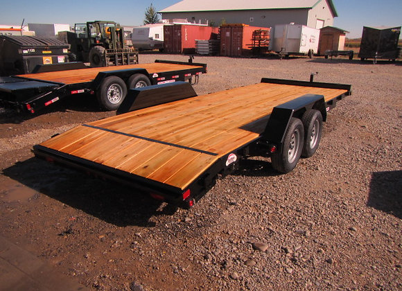 LIBERTY TRAILERS *** 20 FOOT *** CAR HAULER WITH DOVETAIL