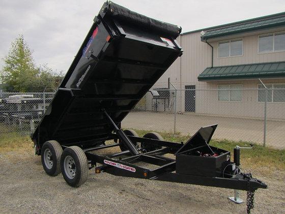 Liberty Trailers *** 6x12 *** 9990 LB GVWR Hydraulic Dump !