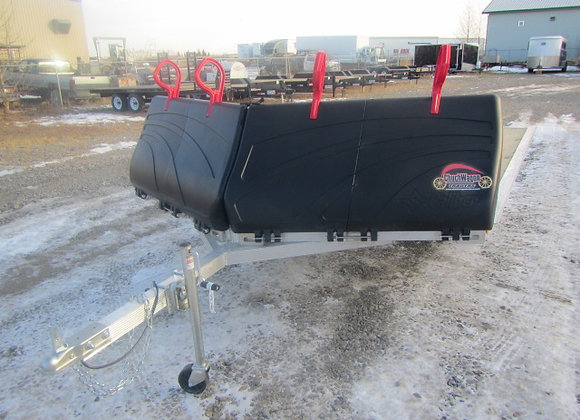"Rainbow Trailers *** 101""x10' *** 2 Place Sled Trailer !!!"