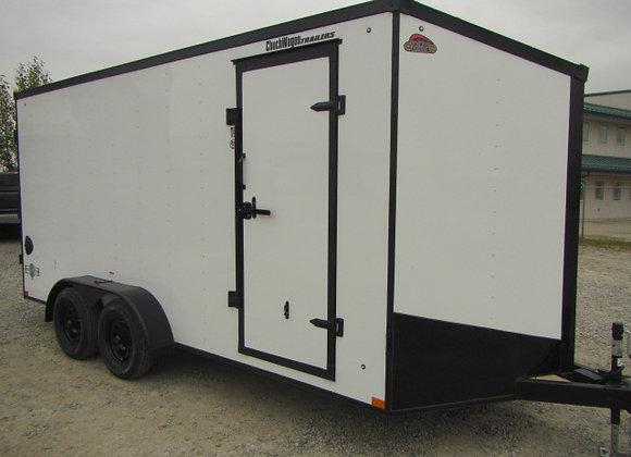STEALTH MUSTANG *** 7X16 *** Double Rear Barn Doors