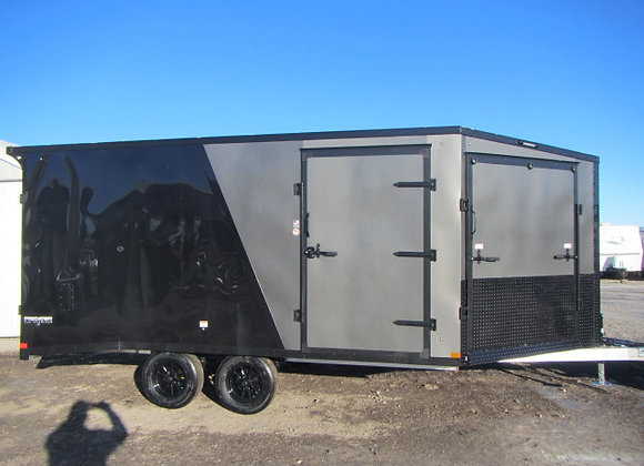 Stealth Predator *** 8.5x21 *** Insulated Aluminum Sled Trailer !
