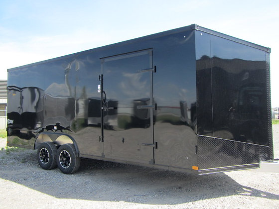 Stealth Cobra 8.5x20 All Aluminum frame car/toy hauler cargo