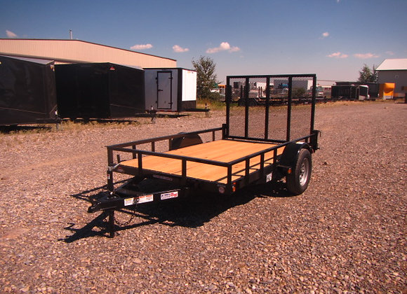 Liberty Trailers *** 6.5x12 *** Utility with ramp gate !