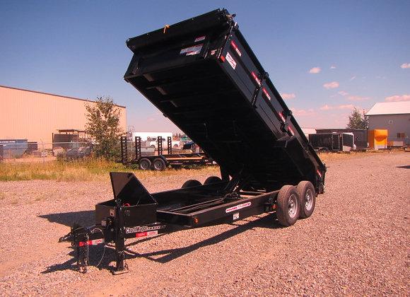Liberty Trailers *** 14 Foot *** Hydraulic Dump Trailer !