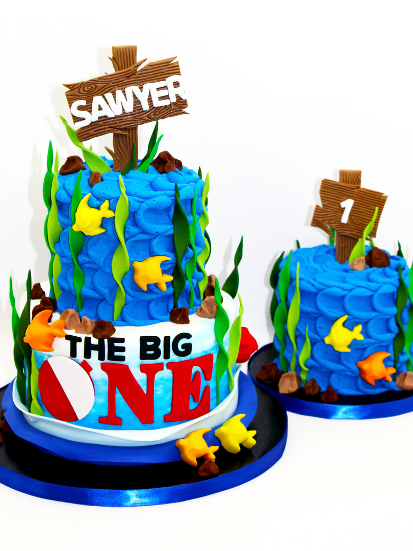 The Big One Cake